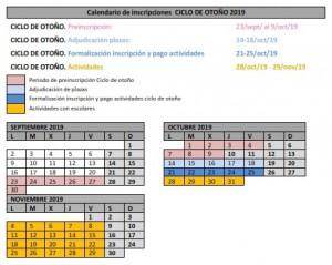 Calendario Otono